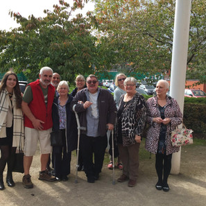 Fabulous Forgetful Friends have a say at Wythenshawe Hospital