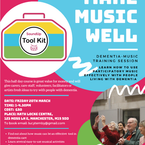 Sound Up Toolkit – 'Make Music Well' Training Afternoon