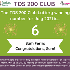 And the 200 Club winner for July is...
