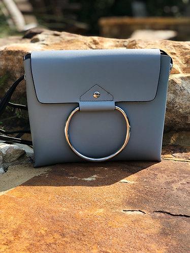 Emerson Blue/Gray Messenger Bag