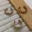 Thumbnail: Gold Three Piece Ear Cuffs
