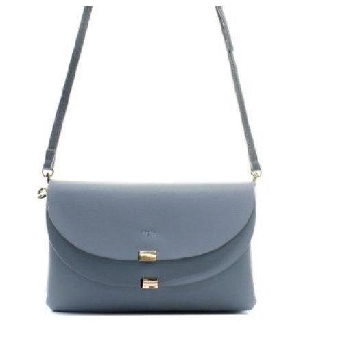 Fiona Blue Messenger Bag