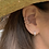 Thumbnail: Silver 3 Row Wide Ear Cuff