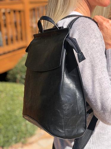 Black Slimline Backpack