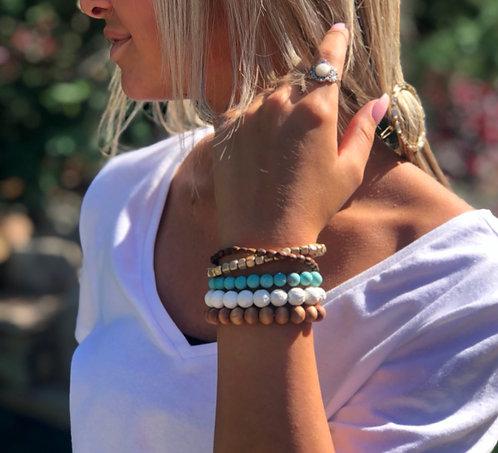 Five Strand Stack Bracelet