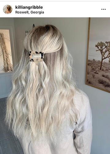 Acrylic Rectangle Hair Pin