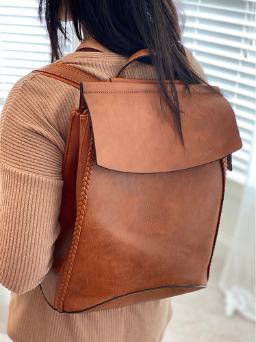 Concord Brown Convertible Backpack