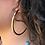 Thumbnail: Matte Gold Nailhead Hoops