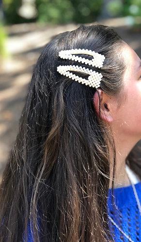 Mini Pearl Hair Clip