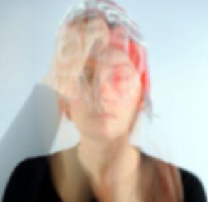 Pascale Séquer autoportrait réalisé en 2012,