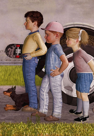Norman Rockwell New Kids