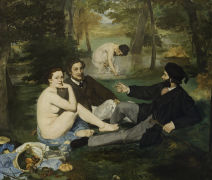 Manet Raphael Compostion