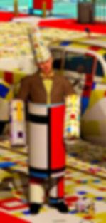 Hugo Ball Mondrian
