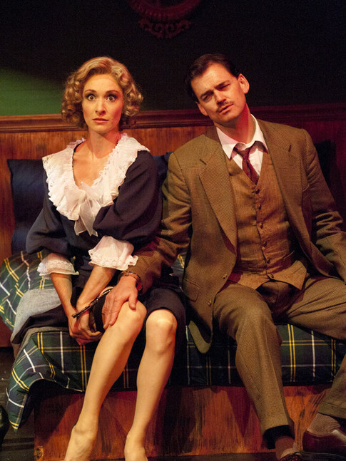 """as Pamela in """"The 39 Steps"""" (with Fred Rose)"""