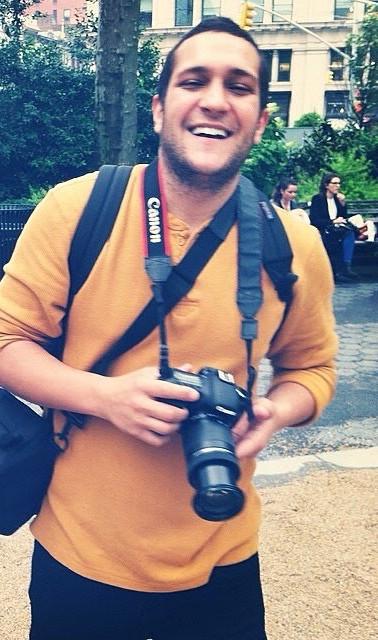 Ross Brunetti, videographer/photographer for promotional materials