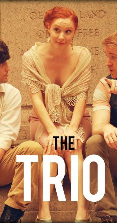 Matthew Vitticore, Nili Bassman, and Geoff Packard as The Trio