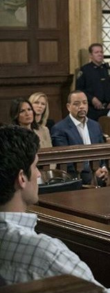"""still from """"Law and Order: SVU"""". with Raul Esparza"""