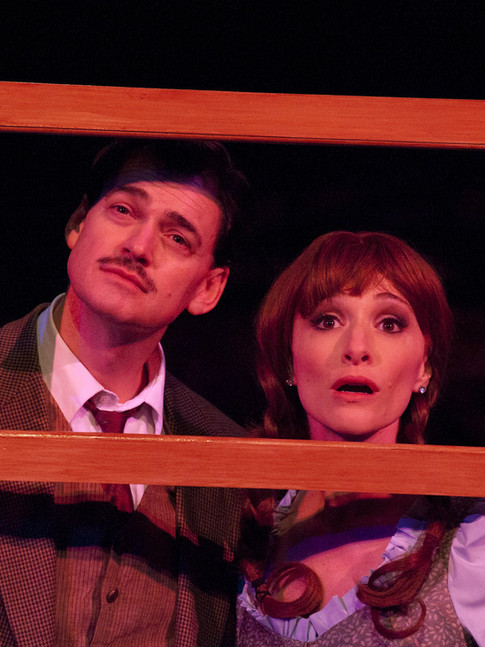 """as Margaret in """"The 39 Steps"""" (with Fred Rose)"""