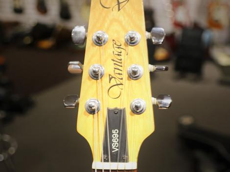 Såld, Begagnad Vantage elgitarr Made in Japan, 1999:-