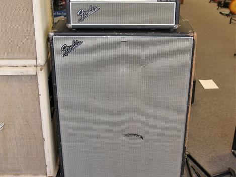 """Begagnad Fender Bassman från 1968 med tillhörande 2 x 15""""19999:-"""