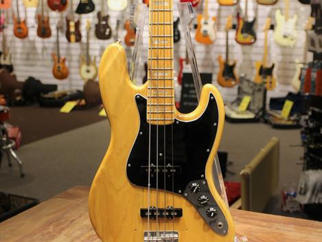 Begagnad Fender Jazzbas från 1978 med orginal hardcase, 19999:-