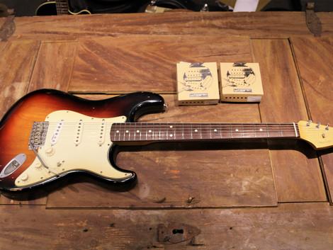 Såld, Begagnad Stratocaster Roadworn, 9999:-