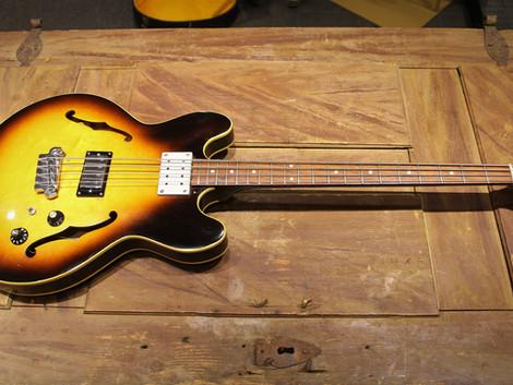 Såld, Begagnad Gibson EB-2 bas från 1967, 19999:-
