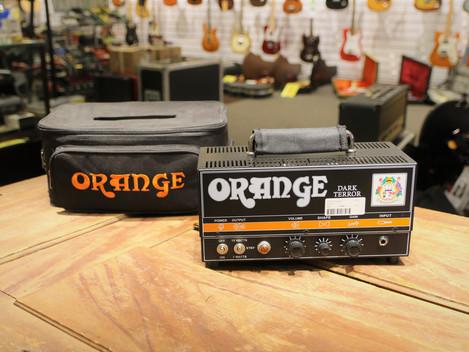 Såld, Begagnad Orange Dark Terror Rörtopp med gigbag, 3999:-