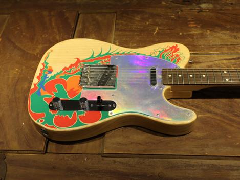 Begagnad Fender Jimmy Page Telecaster. 10999:-