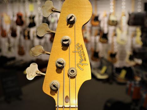 Såld, Begagnad Fender Custom Shop Relic Precision 1957 från 2014, 29999:-