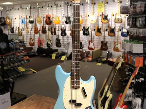 Såld,Begagnad Fender Mustang Roadworn, 7999:-