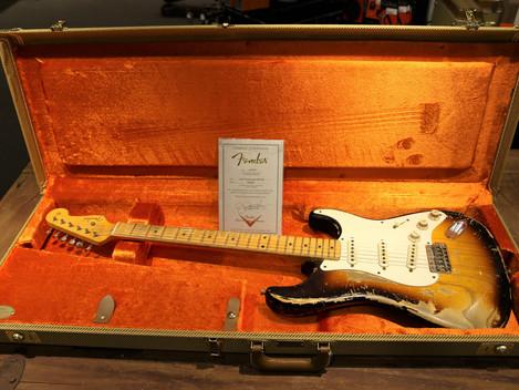 Såld, Begagnad Custom Shop 1956 Stratocaster Masterbuilt av Jason Smith, 49999:-