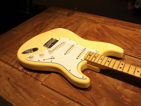 Begagnad Orginal Fender Stratocaster från 1975, lätt och fin, 39999:-