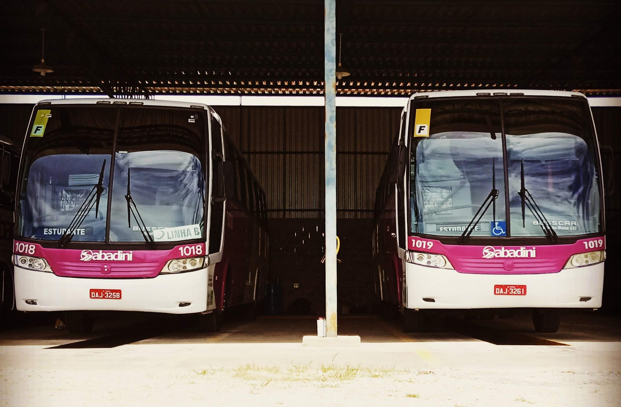 Ônibus Convencional de 48 Poltronas.