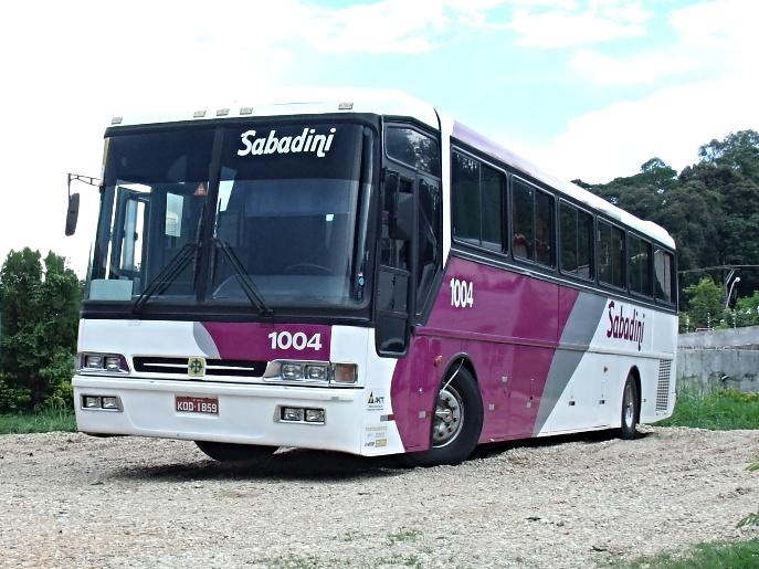 Imagem externa ônibus convencional