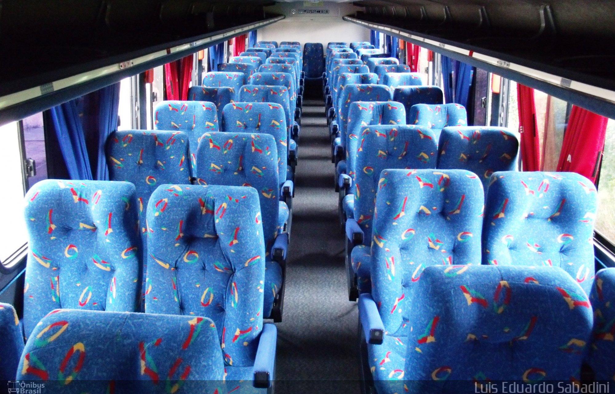 Imagem interna ônibus convencional