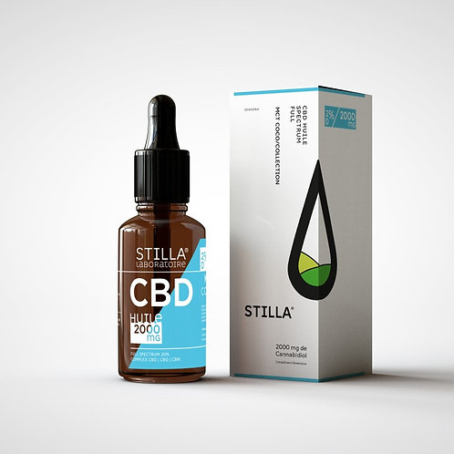 HUILE MCT CBD 20%-2000MG STILLA® FULL SPECTRUM