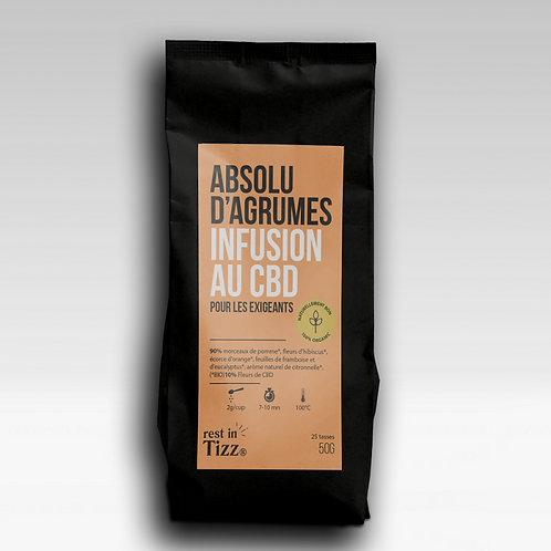INFUSION AU CBD|ABSOLU D'AGRUMES