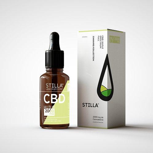 HUILE CBD 20%-2000MG STILLA® FULL SPECTRUM