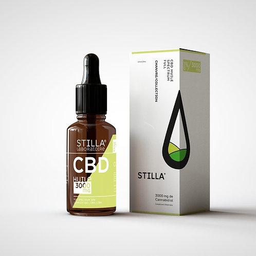 HUILE CBD 30%-3000MG STILLA® FULL SPECTRUM