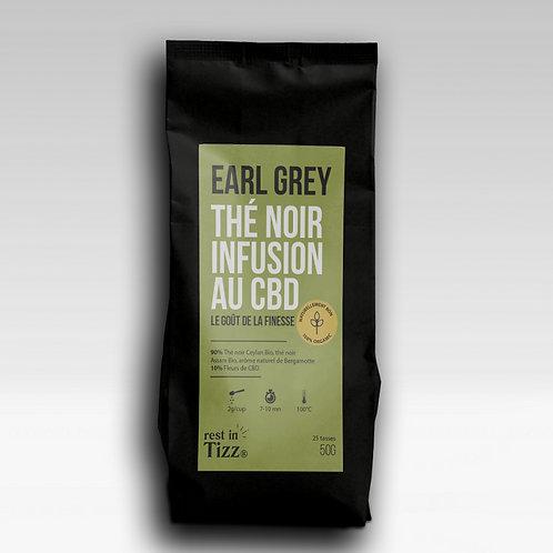 THÉ NOIR BIO INFUSION AU CBD| EARL GREY