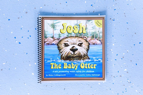 Waterproof Josh the Baby Otter Book