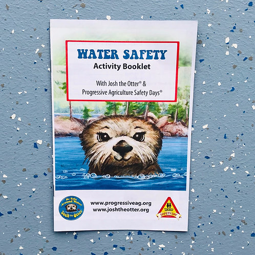 Water Safety Activity Book