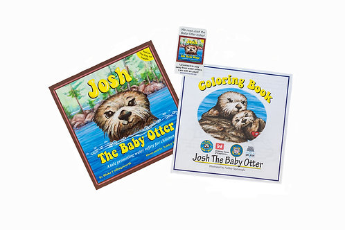 Josh the Baby Otter Packets