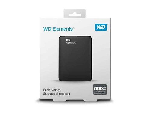 WD Elements - externe HDD mit USB 3.0