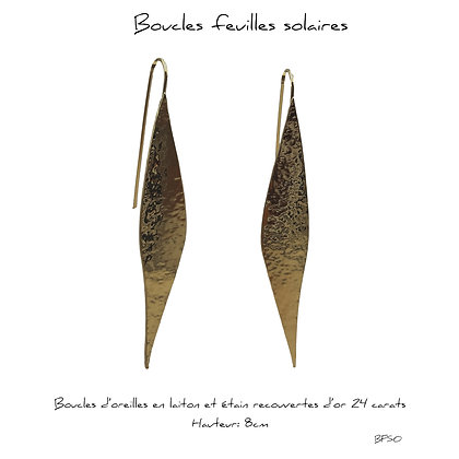 So Sol and Sea - Boucles feuilles Solaires