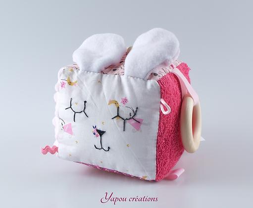 Yapou Créations - Cube d'éveil - Souris