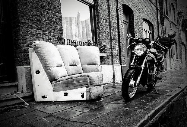 Carolos Couchs & Other sofas - Tableau Photo La Moto