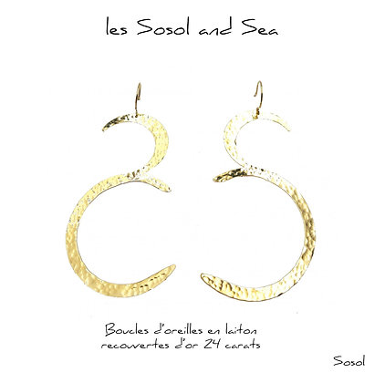 So Sol and Sea - Boucles d'oreilles So Sol and Sea