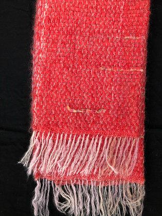 Chris'Tiss - écharpe épais-lirette soie rose